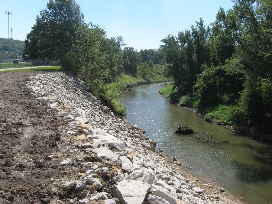 Mill Creek Bank Stabilization