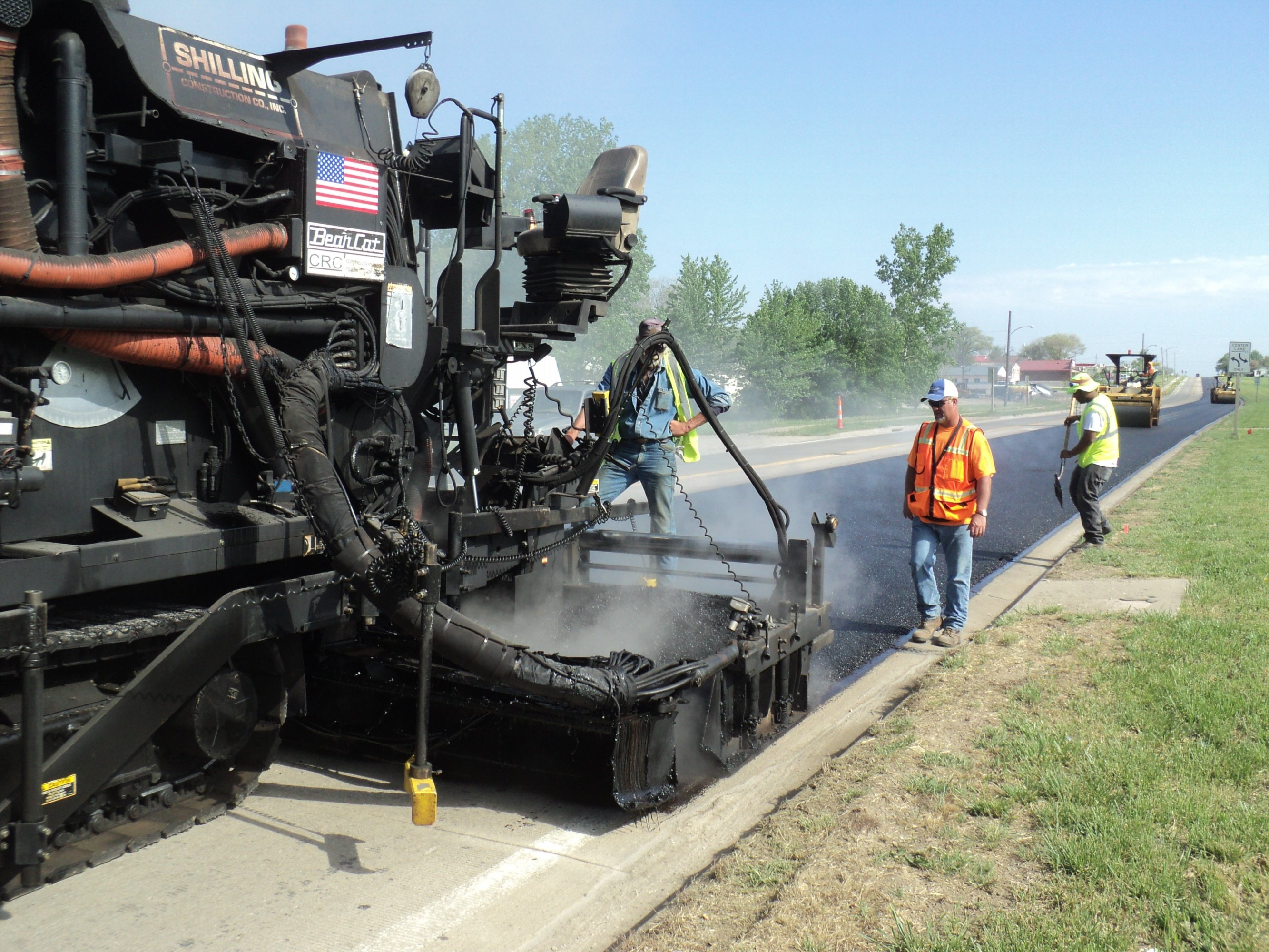 Asphalt Mill, Overlay, UBAS Nova Chip Surfacing