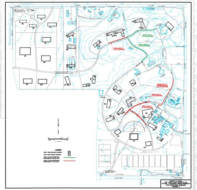 KU West Campus Water Distribution Masterplan